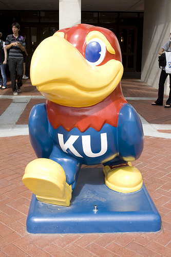 Rock Chalk, Jayhawk — Go, KU!