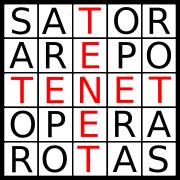 """""""Sator Arepo Tenet Opera Rotas"""""""