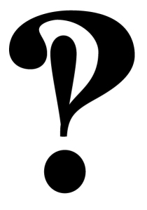 The interrobang shows surprise and question