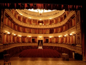 A restored theater in Italy (photo: http://www.flickr.com/photos/addictive_picasso/2874279971/)